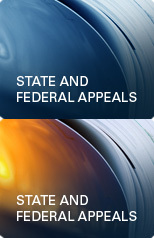 State and Federal Appeals